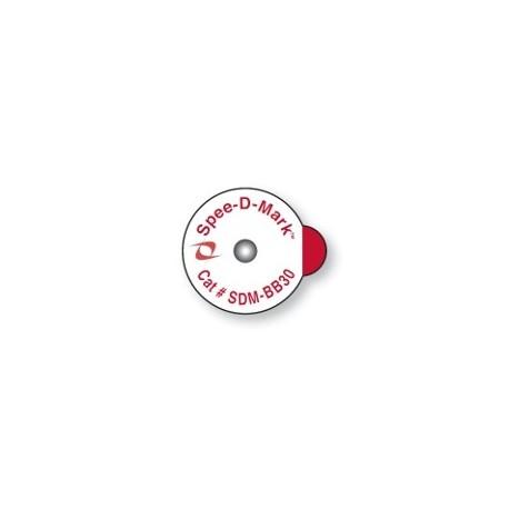 MARQUEUR A LA PEAU POUR RADIOGRAPHIE ET RADIOTHERAPIE 3,0mm ADHESIF BOITE DE 50