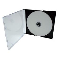 BOITIER SLIMBOX TRANSPARENT ULTRAMINCE EP 5,2 mm POUR 1 CD TARIF UNITAIRE