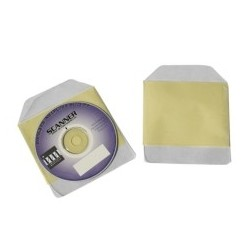 POCHETTE CD AVEC RABAT ADHESIF / PRIX UNITAIRE - VENDU PAR 1000 DOS AUTOCOLLANT A 90%
