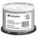 CLOCHE 50 DVD-R VERBATIM - 4,7GB - 16X  - IMPRIMABLES THERMIQUE