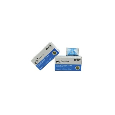 CARTOUCHE EPSON PP100CC  ROBOT EPSON - CYAN CLAIR - Ref PJIC2 conso moy  1200  supports imprimes