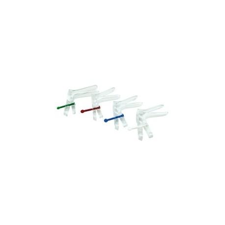 SPECULUM CUSCO STERILE - 20 mm - BLANC / TARIF UNITAIRE /PAR BTE DE 10 LONGUEUR 58mm