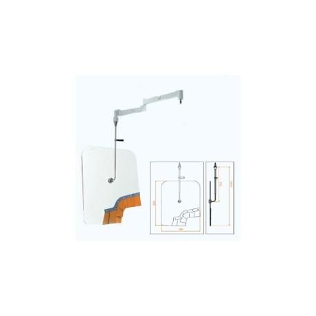 HOUSSE STERILE 90x120cm POUR GLACE ANTI-X 78x90cm AVEC FRANGES BOITE DE 50 HOUSSES STERILES