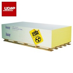 PLAQUE BA13 KNAUF SAFEBOARD BARYUM - PB 0,5mm (TARIF / m²)