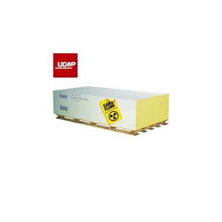 PLAQUE BA13 KNAUF SAFEBOARD BARYUM - PB 0,5mm (TARIF / m²)