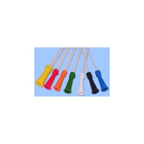 SONDE VESICALE PVC/ 18cm/ FEMME DROITE CH06 Sachet de 10