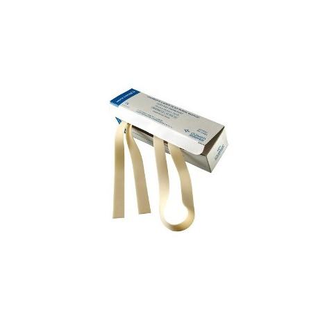 GARROT LATEX PLAT - 75cm x 1,8cm x 1,5mm BOITE DE 25