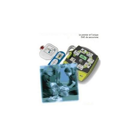 PAIRE D ELECTRODES ADULTE  POUR DEFIBRILLATEURS DEFIB1000 et 140DEF100