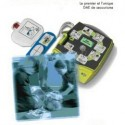PAIRE D ELECTRODES ENFANT  POUR DEFIBRILLATEURS DEFIB1000 et 140DEF100