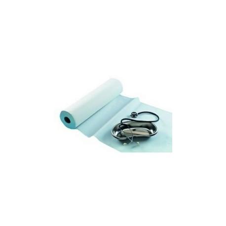 DRAP EXAMEN  MICRO GAUFRE - 132 FORMATS - 60x38cm - 2 PLIS - 50m CARTON DE 9 ROULEAUX