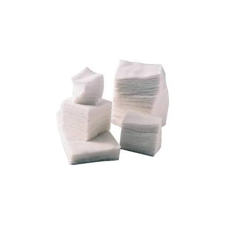 COMPRESSE GAZE NON-STERILE / 13 FILS / 8 PLIS / 7,5x7,5cm (18x30) Sachet de 100