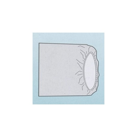 BONNET STERILE RECTANGULAIRE 80x85cm USAGE MIXTE (2 CARTONS DE 50)