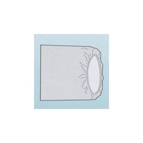 BONNET STERILE RECTANGULAIRE 100x60cm POUR AMPLI (2 CARTONS DE 50)