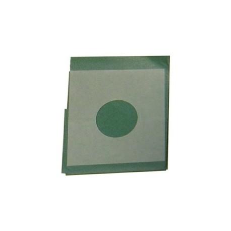 CHAMPS DE SOINS STERILES 75 x 90 cm - TROUES DIAM 10 cm FENETRE ADH BOITE DE 50