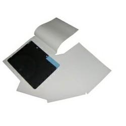 CAVALIER INTERCALAIRE BLANC 80g pour Film 20x25 - Ferme sur 2 cotes CARTON DE 250