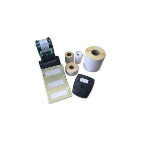 Rlx 250 Etiquettes Thermiques Adhesif Permanent 48x30mm DIAMENTOR C2 MANDRIN 25mm PERFO   SPOT NOIR