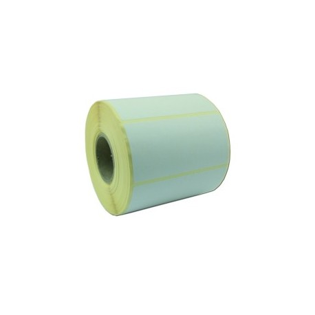 Rlx 1000 Etiquettes Velin Blanc Adhesif Permanent 97x48mm Predecoupees MANDRIN 40mm